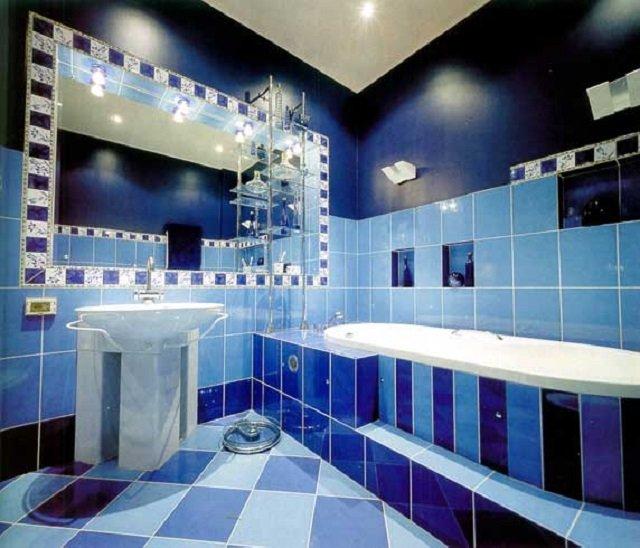 неплохой дизайн плитки в ванной