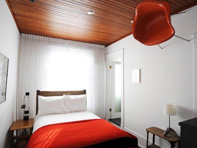 нестандартный дизайн спальни 3х3