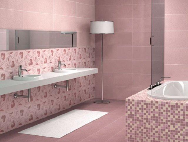 оформления ы дизайн кафельной плитки в ванной комнате