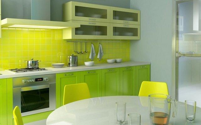 подобрать цветовые сочитания в интерьере кухни