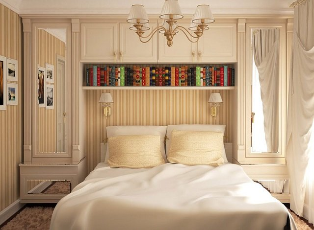 примлимый дизайн спальни 3х3