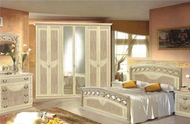 пример спальни по фен шуй