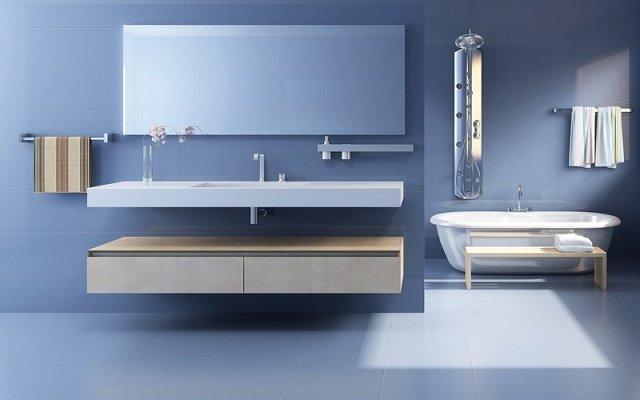 различные примеры дизайна ванной комнаты