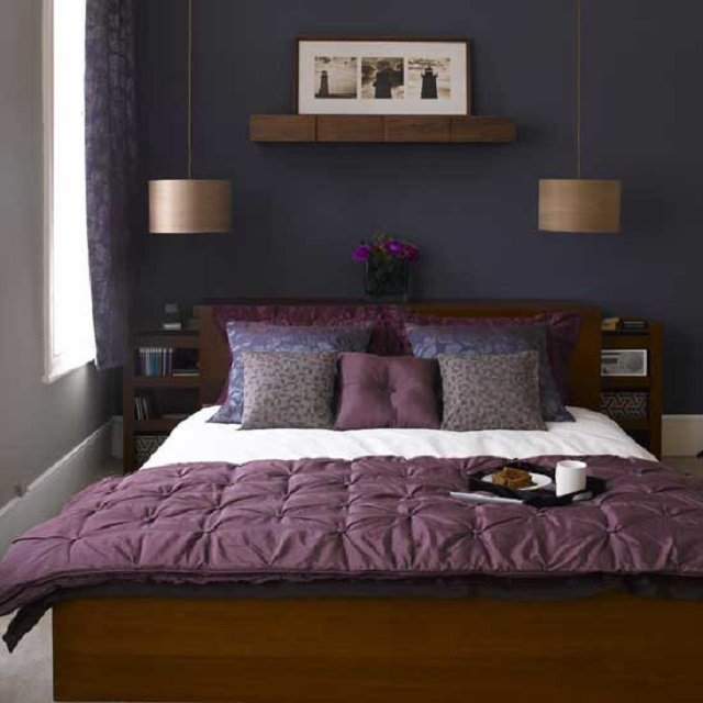 романтичный дизайн спальни 3х3