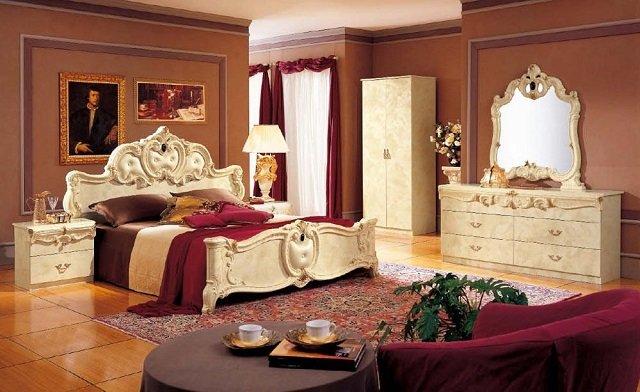 спальни в стиле барокко