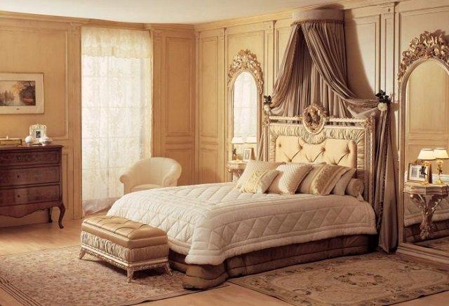стиль классика в спальной комнате