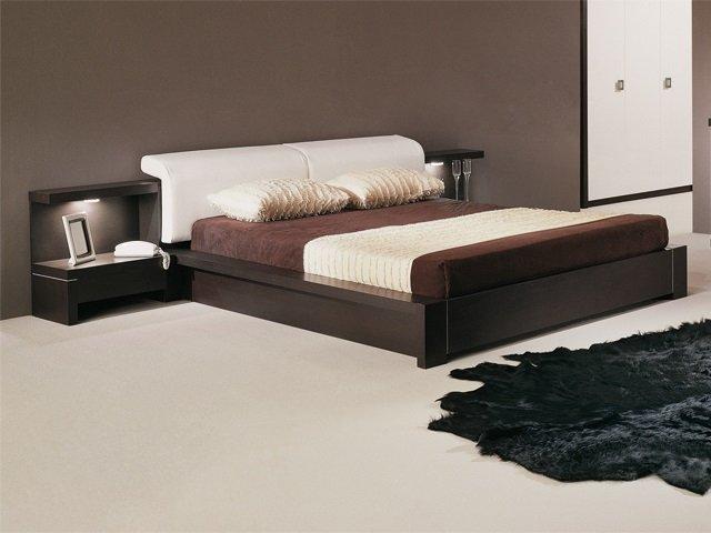 стиль лофт как дизайн спальни