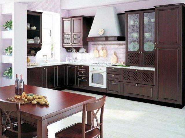 стильная 12 метровая кухня