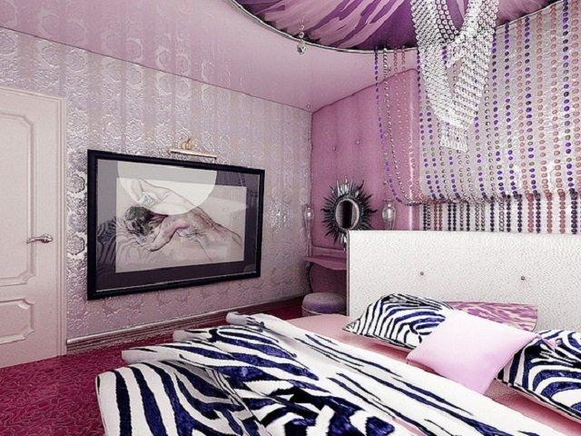 стильные женские спальни