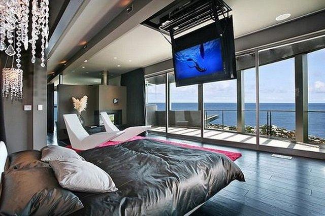 вариант дизайна большой спальни