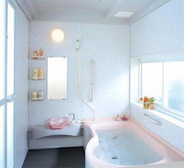 вариант дизайна ванной комнаты 170х170