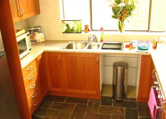 вариант кухни в маленькой квартире