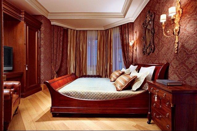 вариант мужской спальни