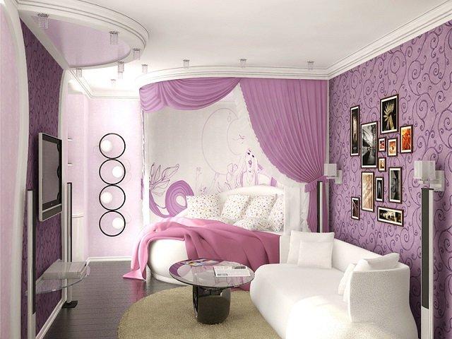 вариант спальни для девочек подростков