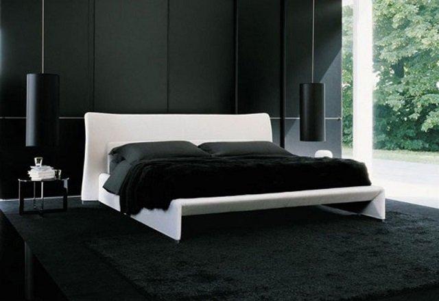 вариант спальни в классических цветах