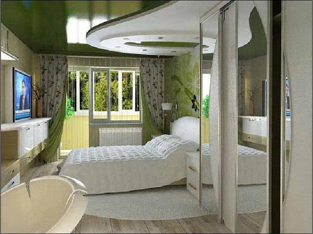 выбираем дизайн интерьера спальни своими руками выполненный