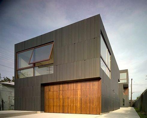 частный дом-крепость в Лос Анджелесе