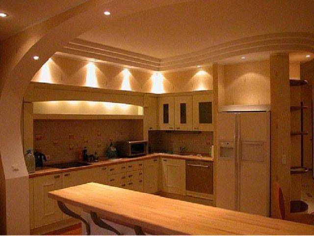 дизайн кухонного потолка как выбрать вариант отделки