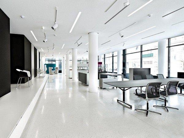 элегантный дизайн современной офисной мебели в Вене