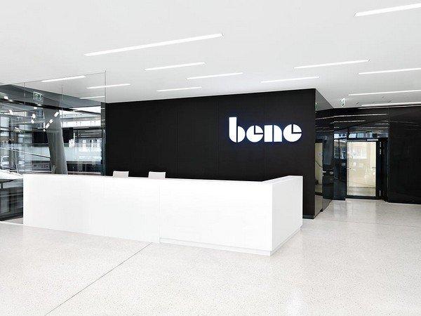 элегантный дизайн современной офисной мебели