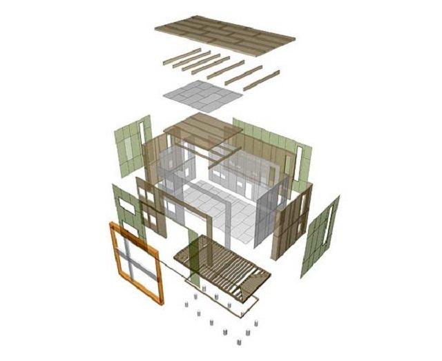 можем сменить старую лачугу на современный уединенный дом