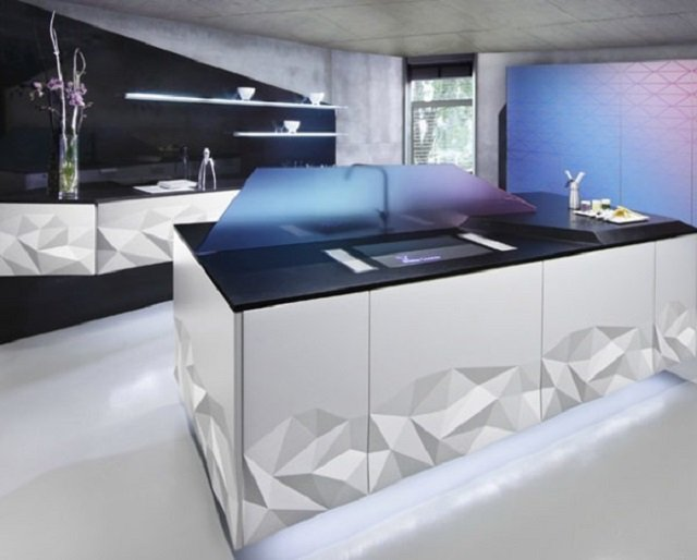 стиль оригами на вашей кухне