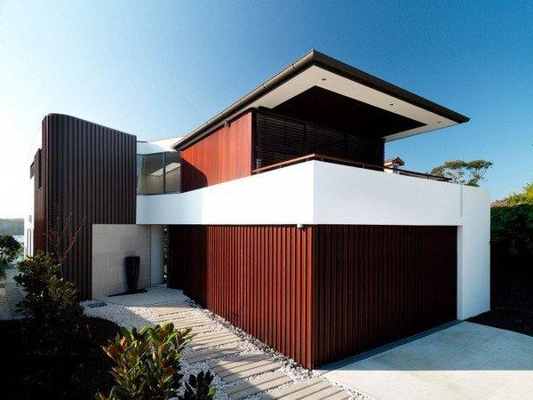 стильная и современная резиденция контрастов в Австралии