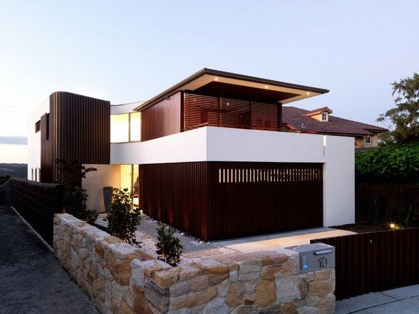 стильная и современная резиденция контрастов
