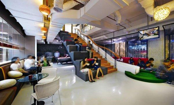 дизайн интерьера офисных помещений фото
