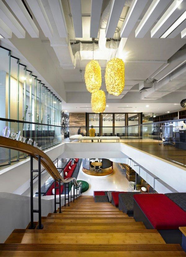 дизайн интерьера офисных помещений