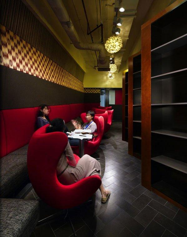 дизайн комнаты отдыха в офисе