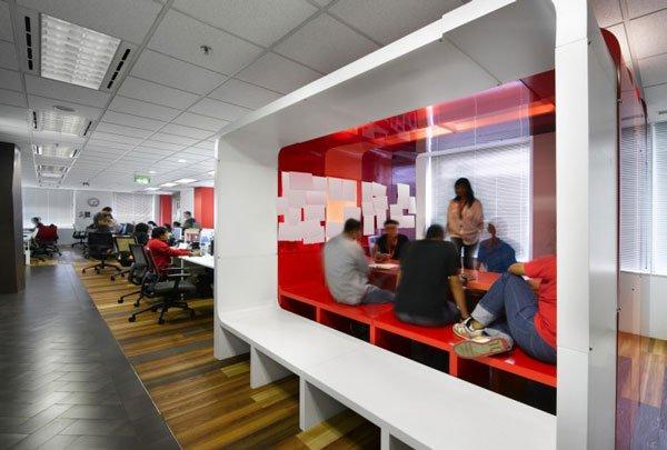 дизайн комнаты в офисе