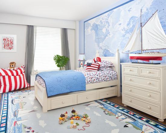 карта мира в интерьере вашей комнаты