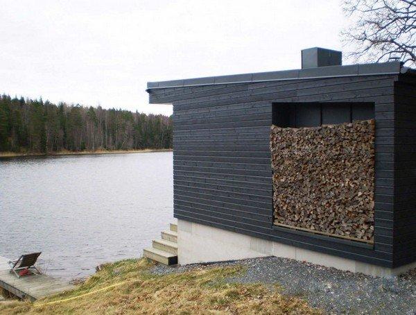 частный дом у озера