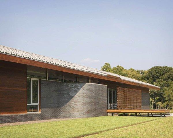 дизайн фасада дачного дома