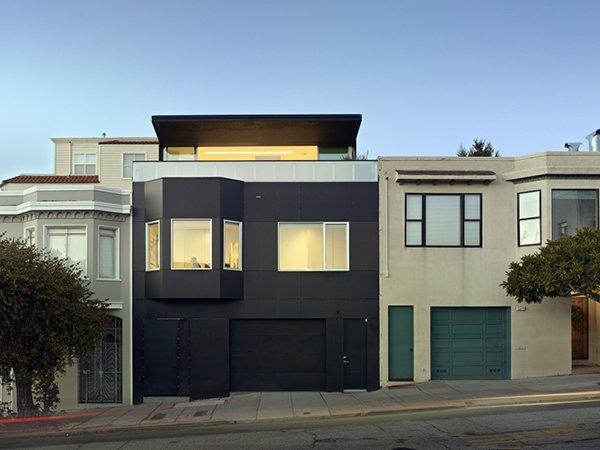 фасад в современном стиле