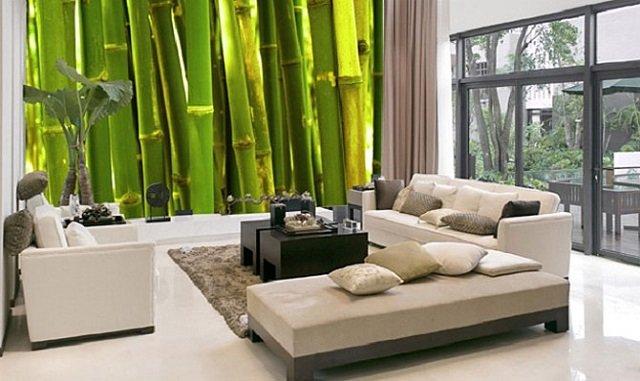 фотообои бамбук особый шарм комнат