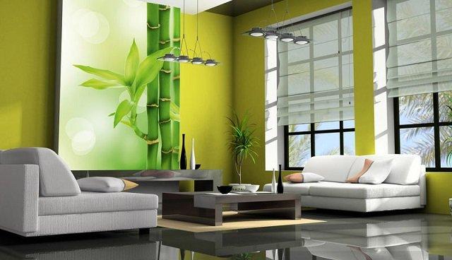 используем фотообои бамбук в интрьере придаем особый шарм любой комнате