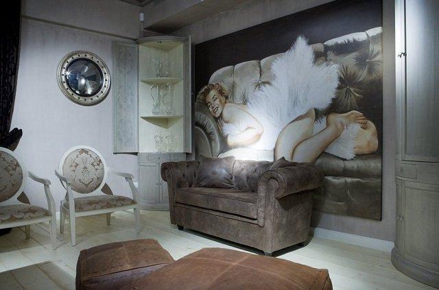 классические фотообои с фресками