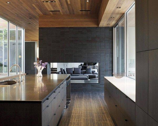 кухня в современном стиле дизайн