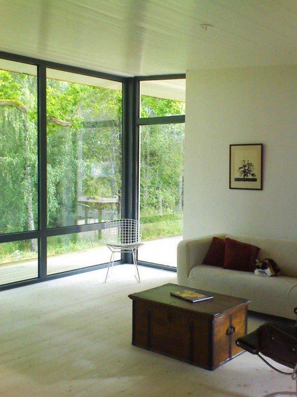 панорамные окна в доме фото