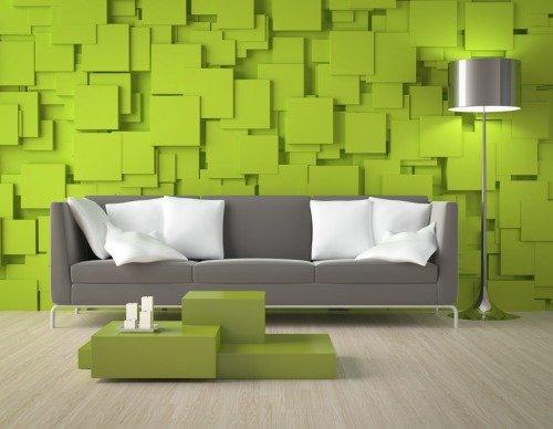 салатовые обои на стенах вашего дома