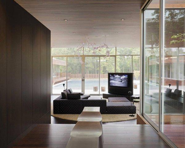 стильное оформление комнаты