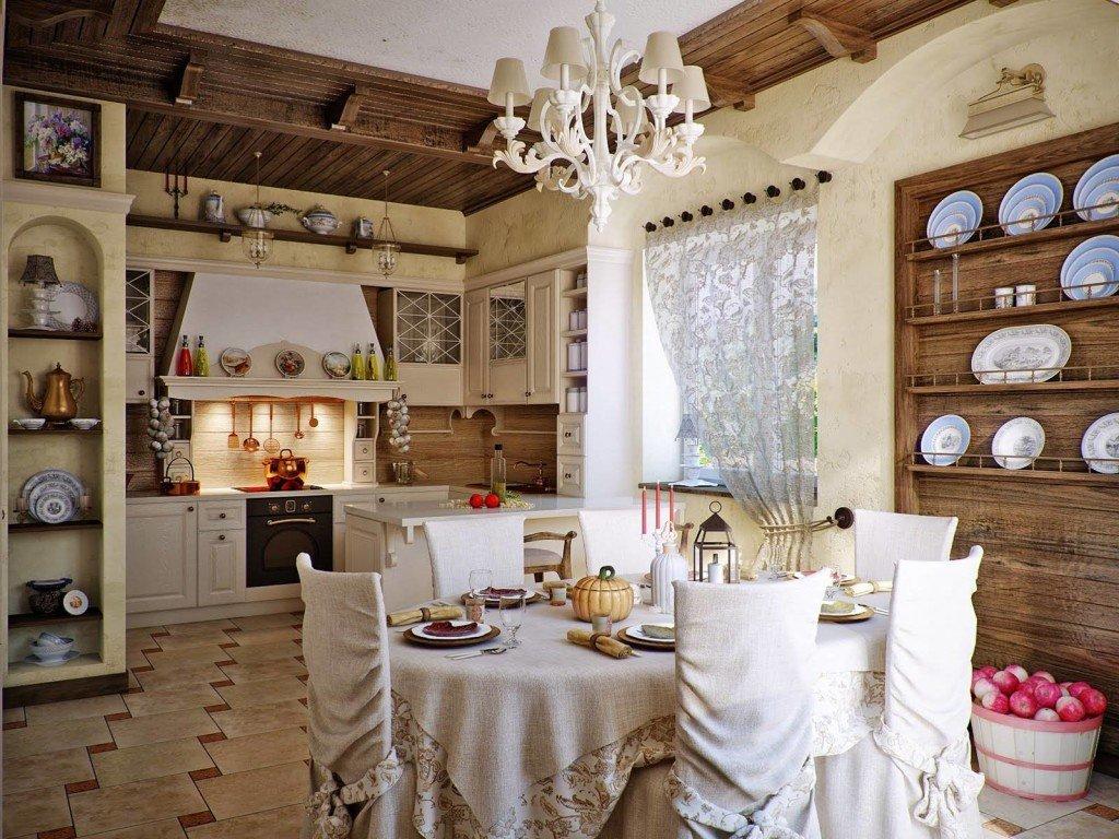 Тосканский стиль в интерьере