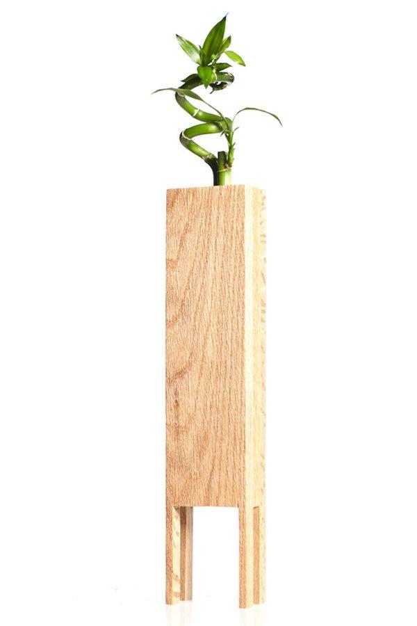 деревянные вазоны для цветов своими руками