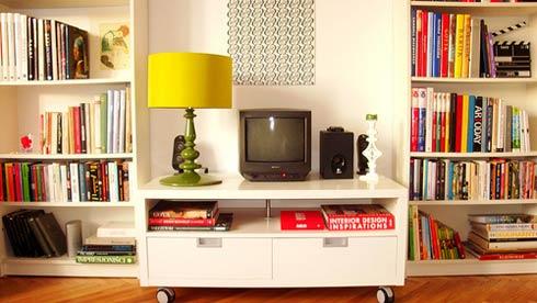 домашняя библиотека мебель фото