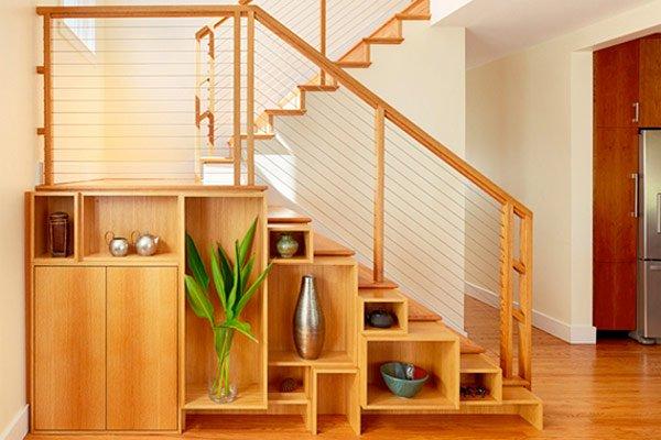 лестница в комнате фото
