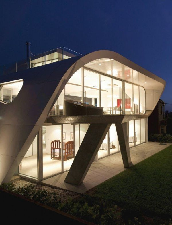 освещение фасадов частных домов