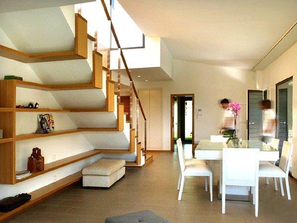 пространство под лестницей дизайн