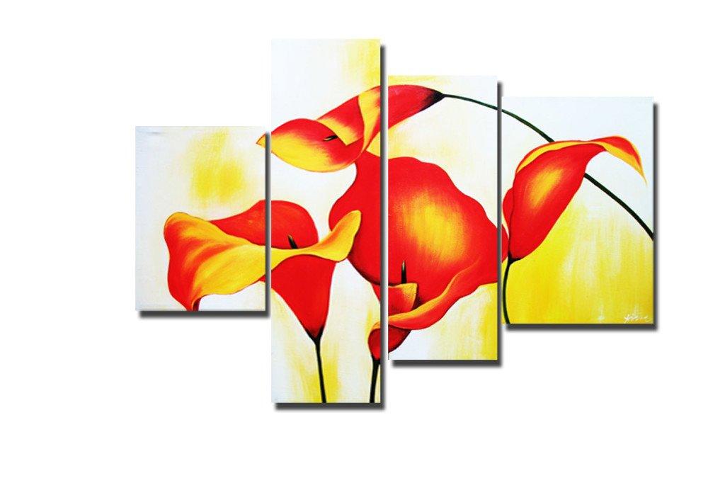 составная картина цветы